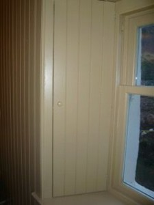 Shutters Redwood Lining